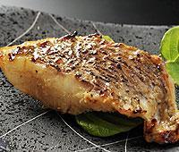 鹿児島近海産の真鯛の山椒味噌漬け